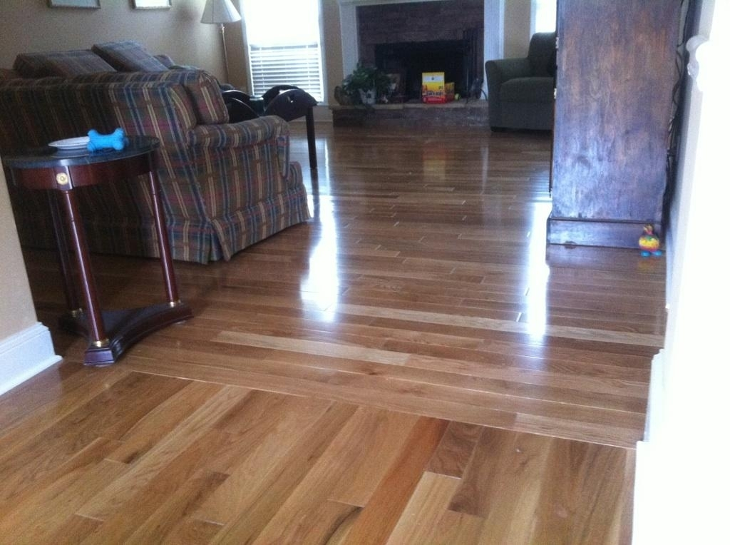 Laminate Flooring Direction Hallway Birch Hardwood