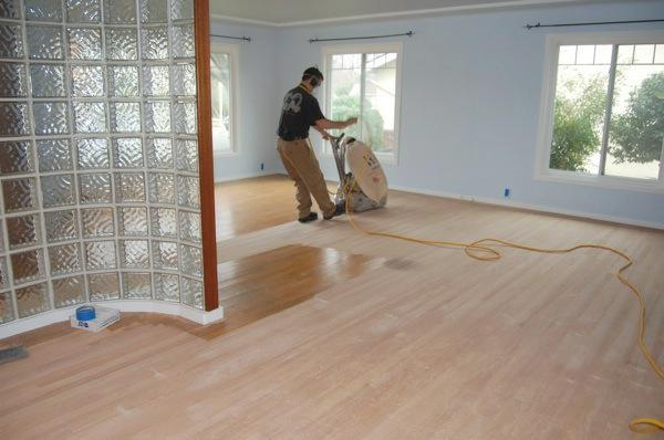 Hardwood floor sanding and sealing for Sanding hardwood floors