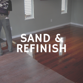 Sand & Refinish - Before & Afters