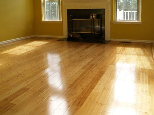 semi gloss wood floors
