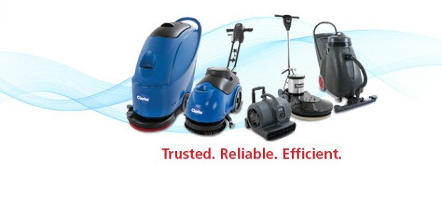 Clarke Floor Scrubbers with BOOST Technology