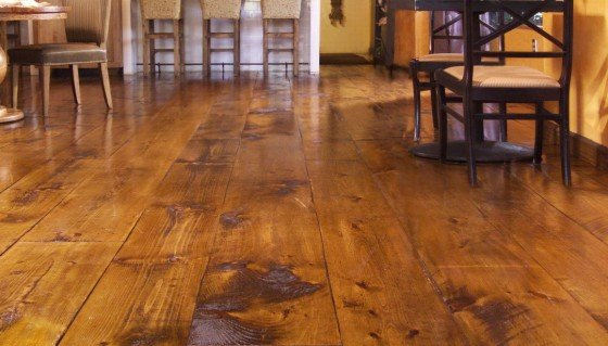 Wood floors provide a beautiful and natural looking aspect to your ...