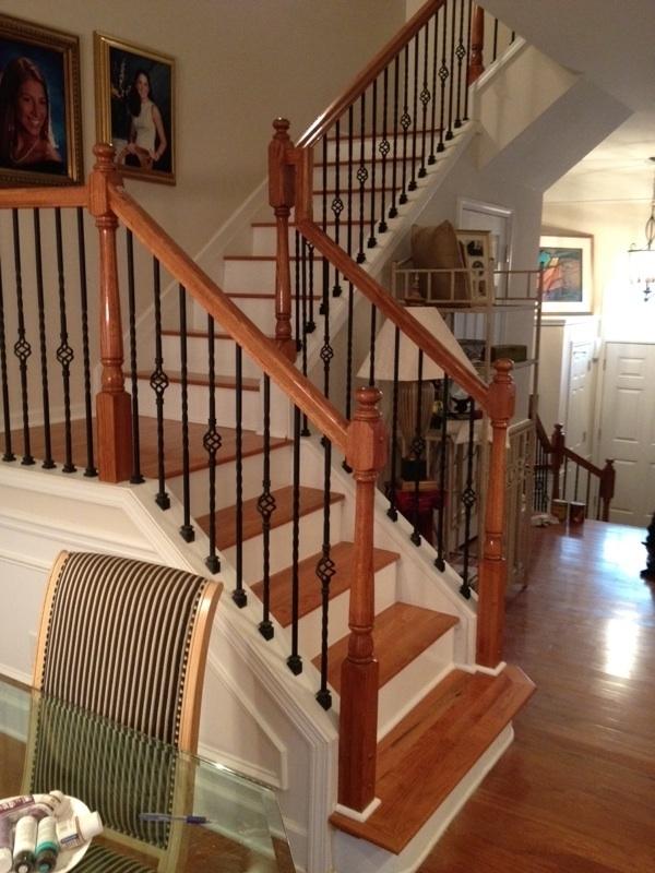 Custom Staircase Rebuild Atlanta, Ga.