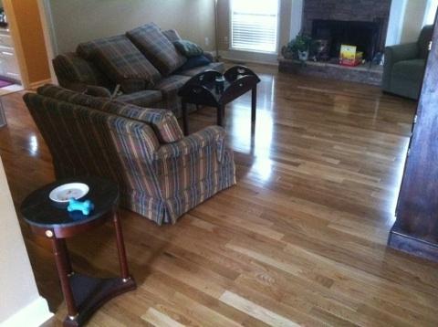 Domestic Pre-finished Solid Hardwood Flooring installation Atlanta Ga