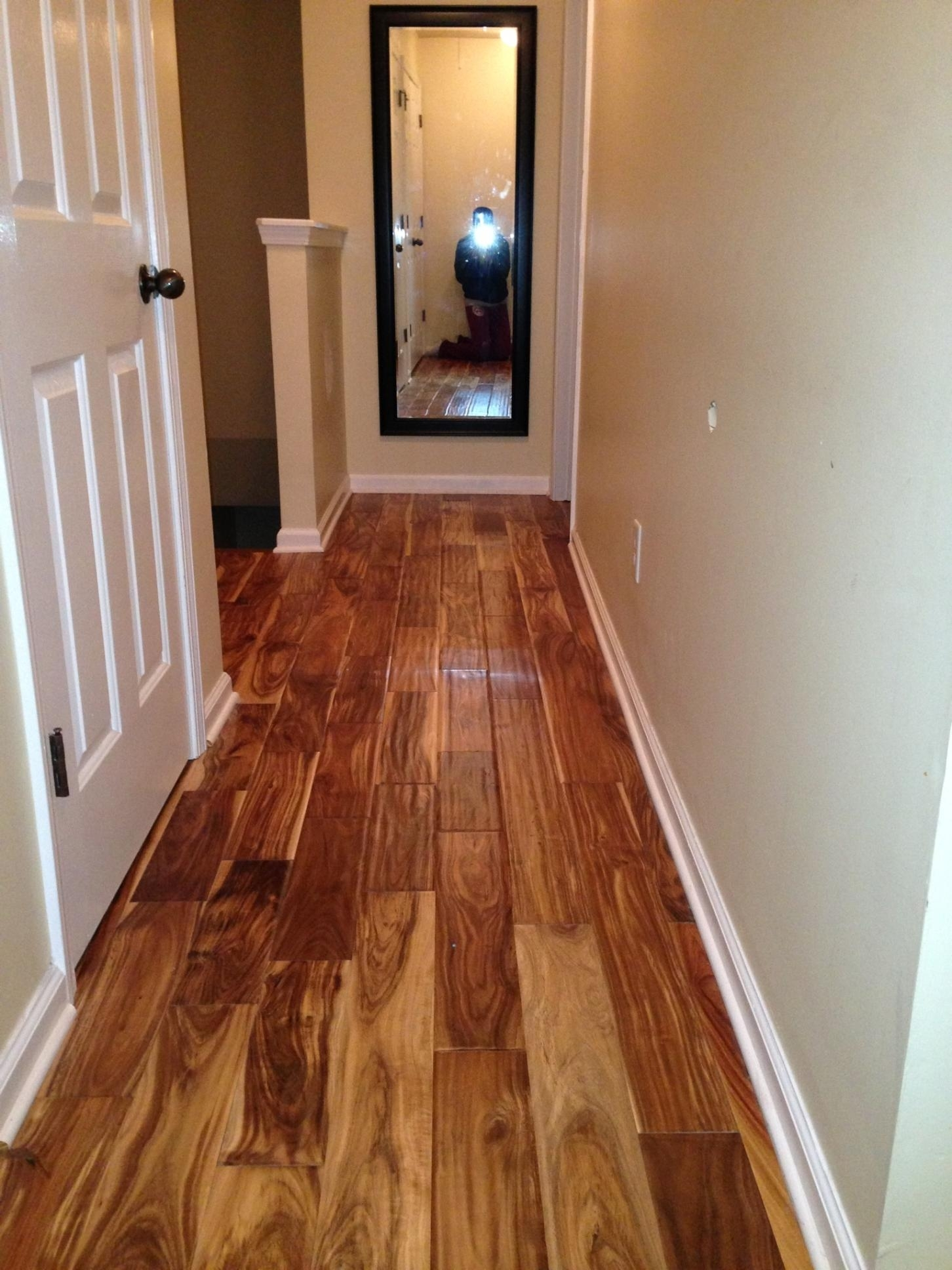 Exotic Hardwood Flooring Hand Scrapped by Metro Atl. Floors