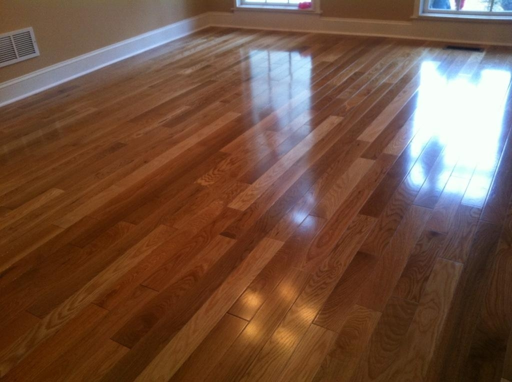 Solid Pre Finished Hardwood Floors installed by Metro Atl. Floors in Roswell Ga