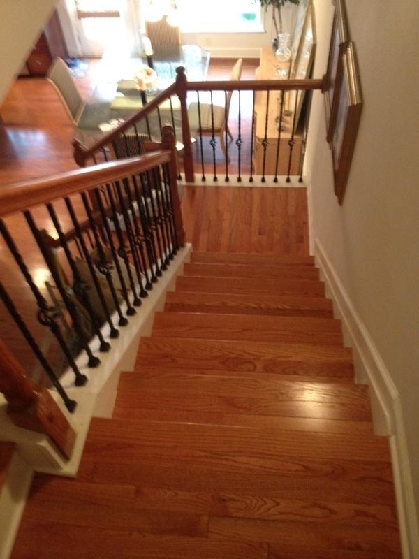 Staircase Rehab In Atlanta Ga By Metro Atl Floors