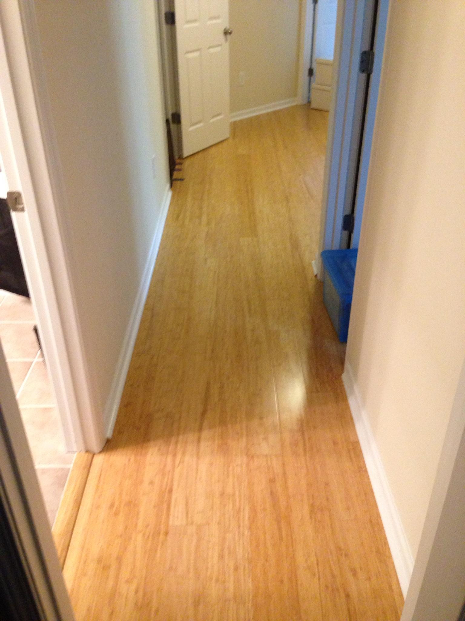 Bamboo Hardwood Floors Installed In Atlanta Ga