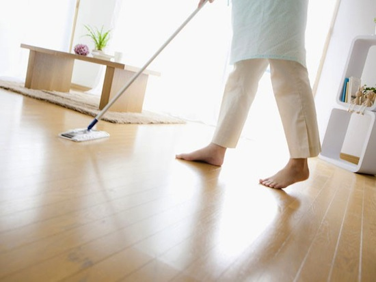 Spills On Hardwood Floors