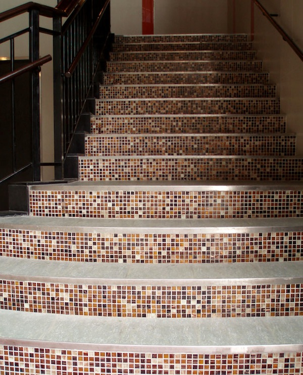 Tiling The Stair Risers Is A Technique That Is Often Used In Spanish Style  Homes. Place The Same Tile Design On Each Riser, Or Alternate Patterns On  Each ...