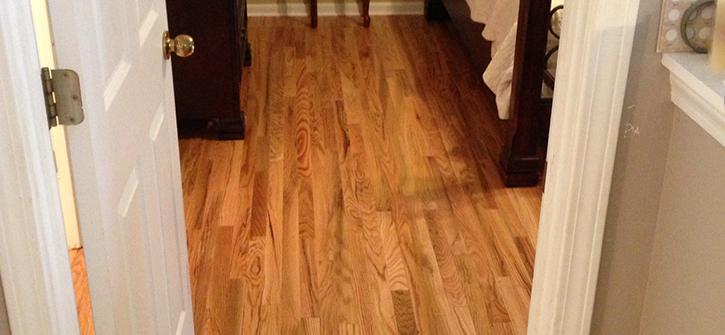 Hardwood Bedroom After