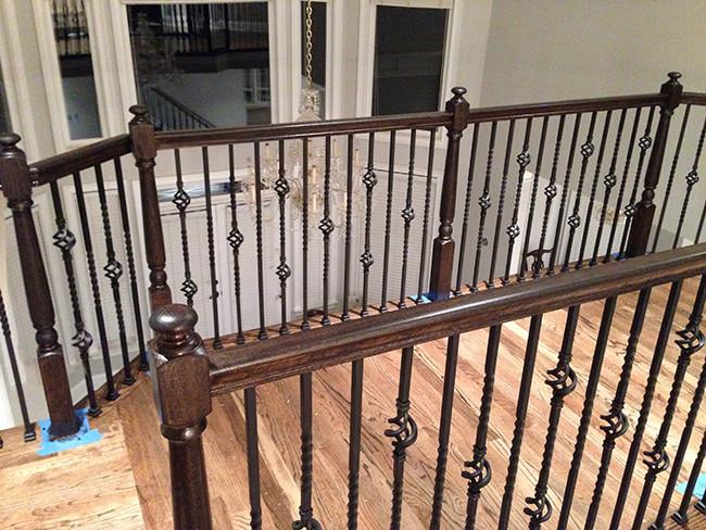 Remodeled Wood Staircase Marietta Ga 4