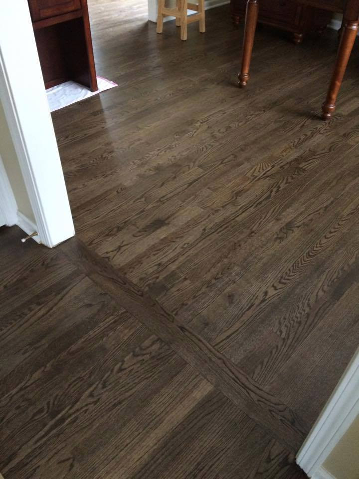 Jacobean Wood Floor Installation