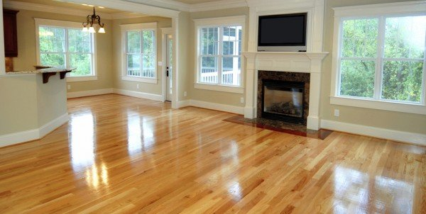 wood floor sheen