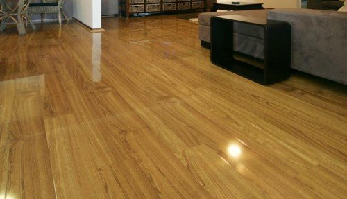 high gloss flooring