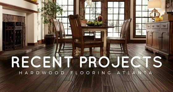 Hardwood Flooring Atlanta – Recent Projects